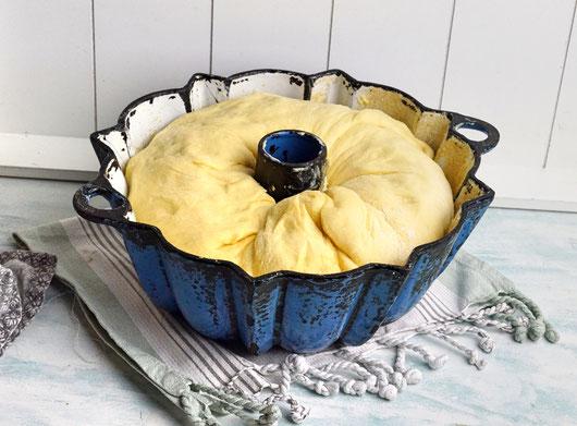 Oma Marie`s alte Kuchenform ist nicht nur schön, sondern liefert auch ein einwandfreies Backergebnis