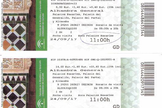 unsere Alhambra Tickets