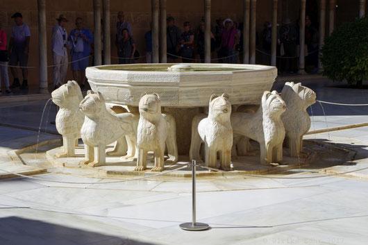 Dem Löwenbrunnen verdankt der Löwenhof seinen Namen