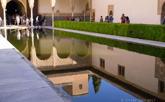 Wasser spielte eine große Rolle in der maurischen Architektur