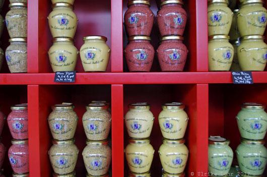 Der Senf der Moutarderie Fallot
