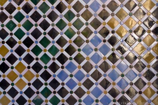 Fliesen-Mosaik in der Alhambra