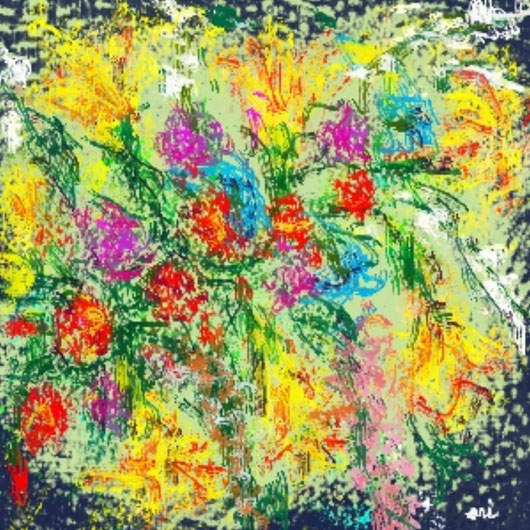 BOUQUET - 2013 dipinto digitale