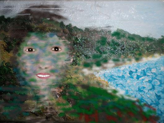 RITRATTO DI VITA MI - 2012 dipinto digitale - tecnica aerografo