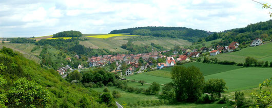 Blick auf Retzstadt