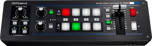 SDI対応ビデオスイッチャー V-1SDI
