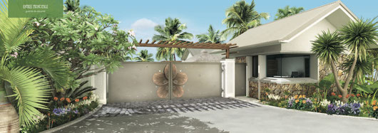 nouveau programme maison et villas Frangipane à Pereybère ile maurice