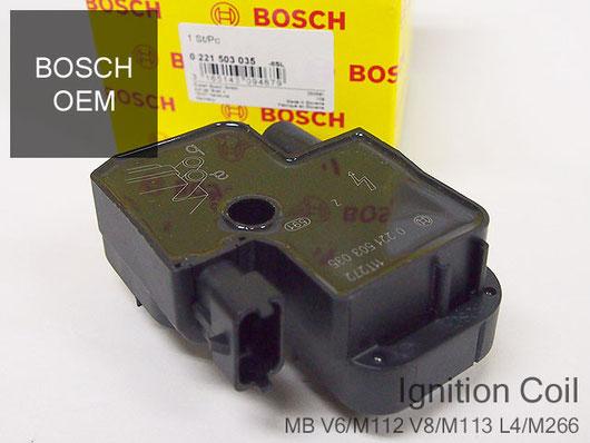 ベンツ Eクラス W210 V6 V8 イグニッションコイル M112 M113 エンジン用