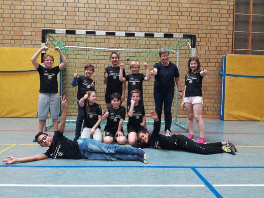 Kreismeister Handball Grundschule Zeltinger Rachtig