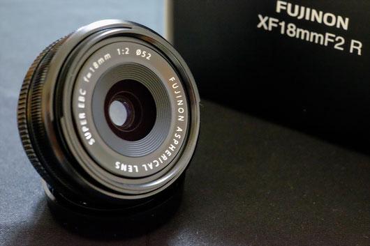 Fujifilm XF18mm F2 R