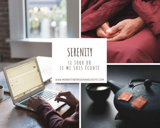 serinity, bien-être au travail, enrprise, société, calme, acceptation, respect, estime de soi