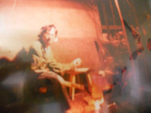 夢狂   窯焚き(穴窯) 炎のアート オブジェ