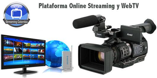 Plataforma de Streaming Colombia para canales webtv, eventos en directo y radio online