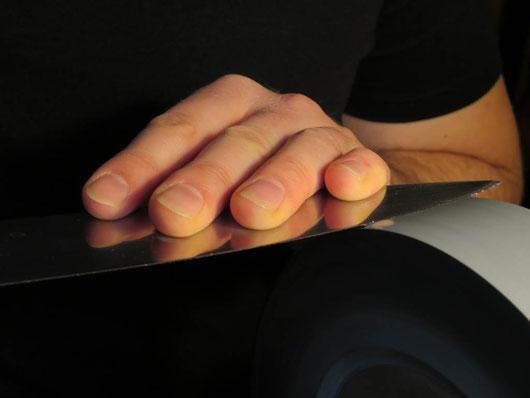 Messer schleifen Kochmesser schärfen Messerschmied Wiltschko