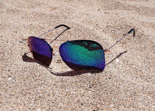 Sonnenschutz am Strand