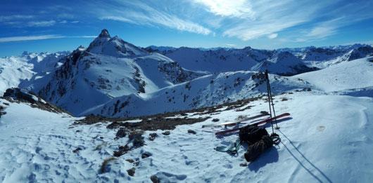 rando montagne dans les Hautes alpes