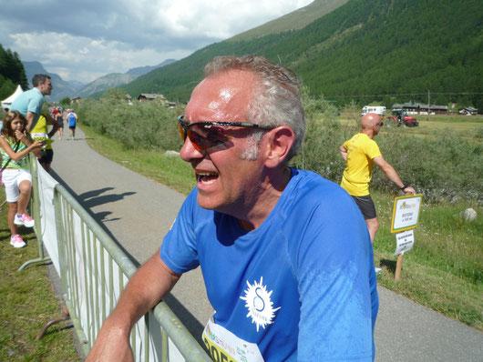 STRALIVIGNO  2013  Mezza Maratona a 2000 meti di altitudine !!!!    Si corre con il cuore in gola, si soffre e manca l'ossigeno !!!