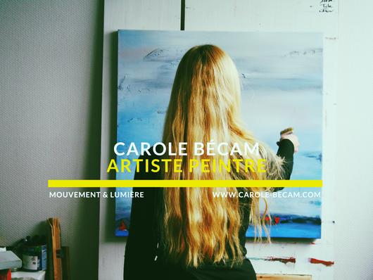 Carole Bécam - artiste peintre - Mouvement et lumière - La Baule