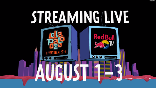 Live Streaming del Festival Lollapalooza que se transmitió desde Chicago - 2014.