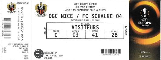 OGC Nizza  15.09.2016