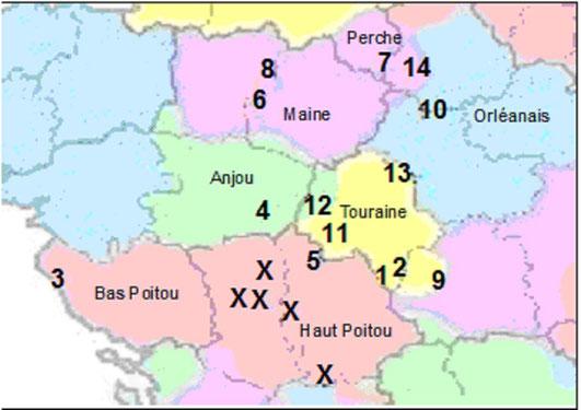 lieux appelés Sonay ou équivalent