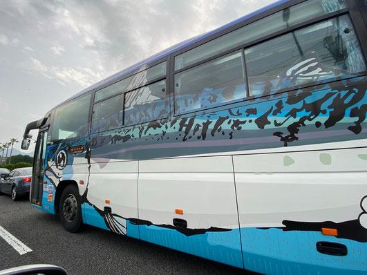 【関さばラッピングバス】大分ローカルタレントが見た!
