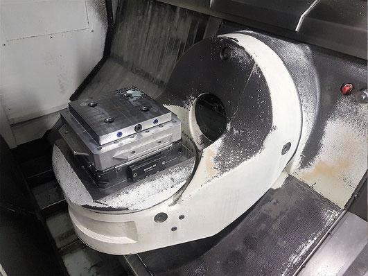 Fräsmaschine Mikron HSM 600 U ProdMod