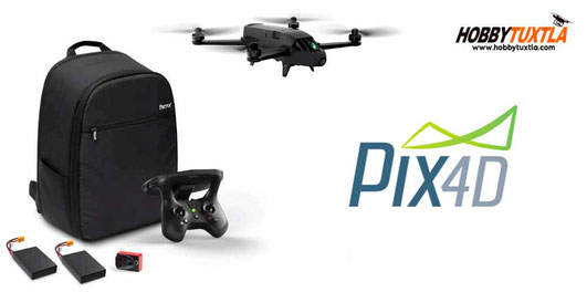 Parrot Bluegrass Fields drones con cámara multiespectral y software de procesamiento Pix4D incluidos