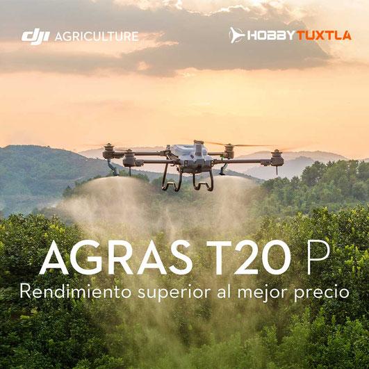 DJI Agras T20 el mejor dron para aspersión de ultra bajo volumen del mercado