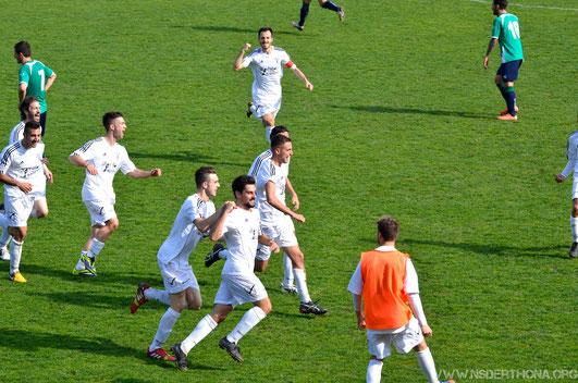 2013-14 Derthona-Chiavari Caperana Esultanza del 2-1