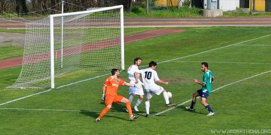 2013-14 Derthona-Chiavari Caperana Gol del 2-1
