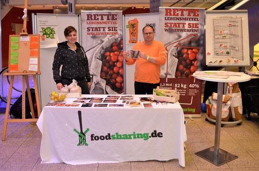 Foodsaver auf der Messe Bremen