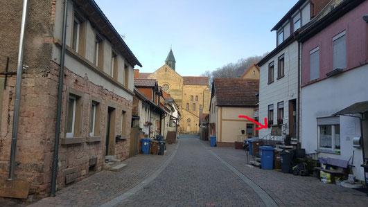...zum Türsturz des ehemaligen Klosterhospitals