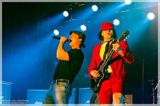 BAROCK - the AC/DC tribute show Rostock 2018 Lee Robinson