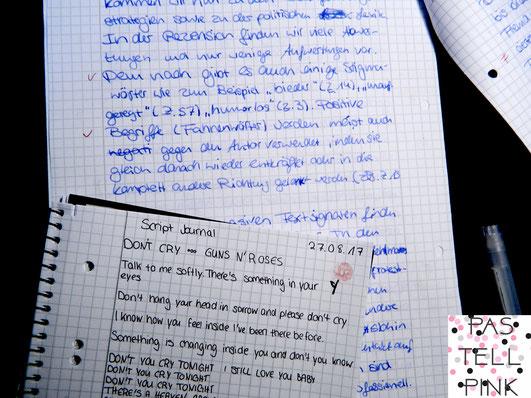 Schrift vergleich handschrift verbessern üben