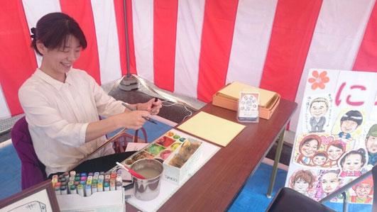 三重県鈴鹿市出張似顔絵師