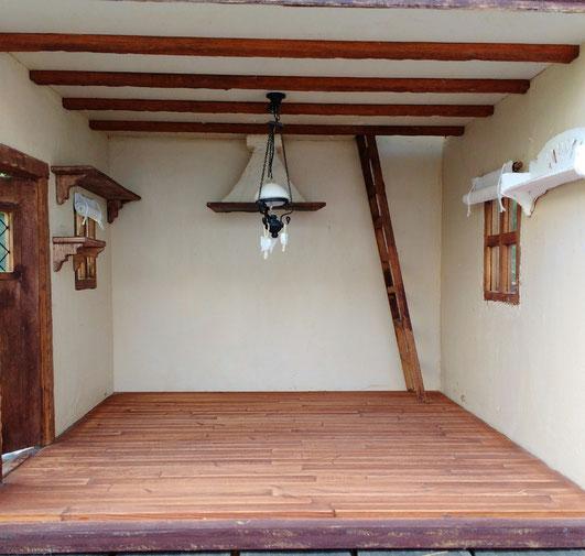 Miniatur-Fachwerkhaus