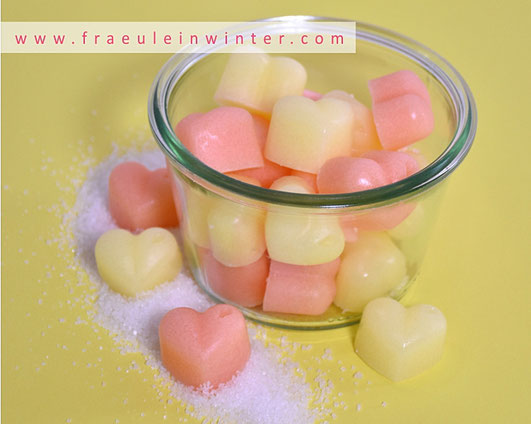 Sugar Scrub Cubes | Handmade by Fräulein Winter