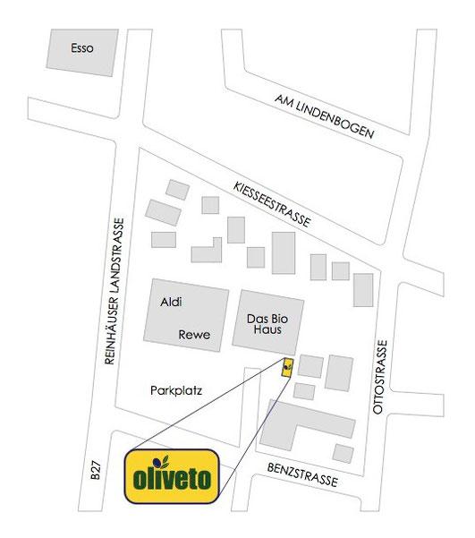 Lageplan Das Biohaus Benzstr.