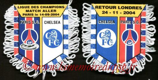 Fanion  PSG-Chelsea FC  2004-05
