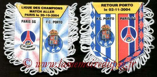 Fanion  PSG-FC Porto  2004-05