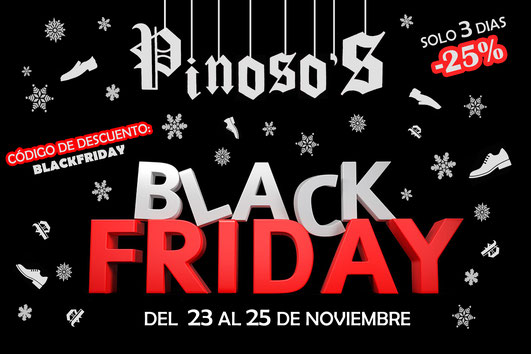 pinosos black friday del 23 al 15 noviembre