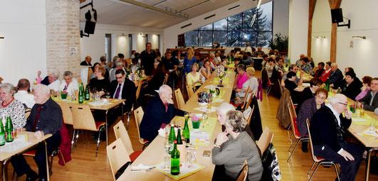 Frühlingserwachen der Ortsgruppe Hornstein am 17. März 2018 im Forsthaus Hornstein