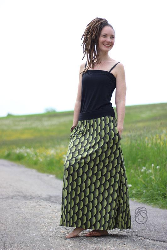 Katjuschka - Wandelwunder A*N*N*A - Wickelkleid - Boho Style - Maxikleid - Wendekleid - Oberteil - Maxirock