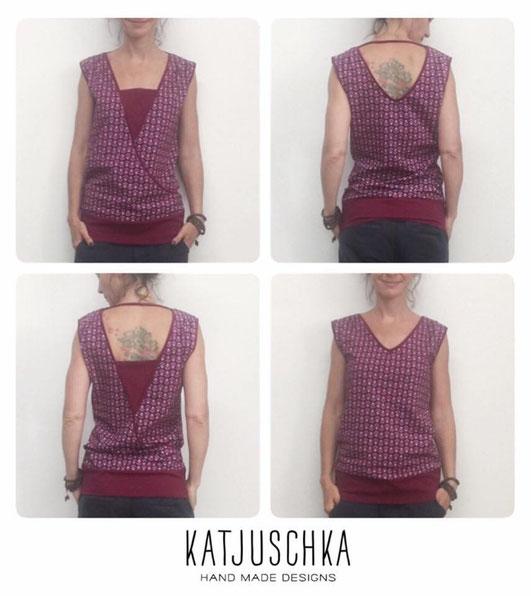 Katjuschka - Wandelwunder A*N*N*A - Wickelkleid - Boho Style - Maxikleid - Wendekleid