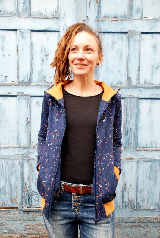 Katjuschka - Miss Coollege Nähanleitung eBook Nähtutorial Nähen Stoffvorstellung Swafing