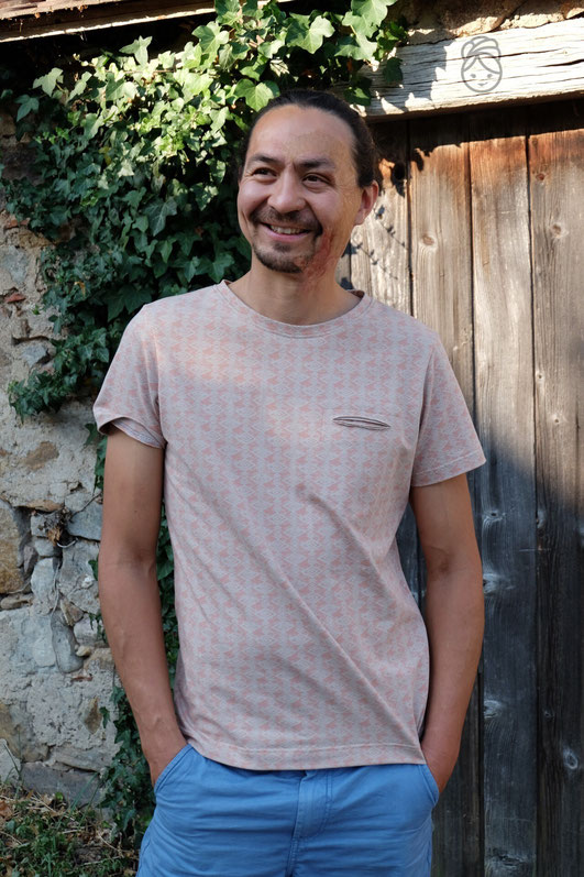 Katjuschka Mister T T-Shirt Herren-Shirt Schnittmuster eBook Nähanleitung Männer-T-Shirt Männer-Shirt