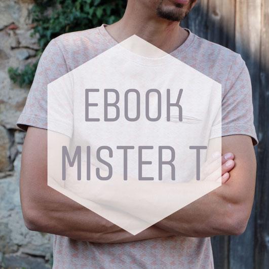 Katjuschka - Mister T Nähanleitung eBook Nähtutorial Nähen T-Shirt Herren-Shirt Shirt Männer