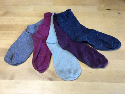 Katjuschka - einzelne Socken