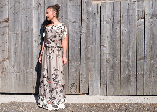 Katjuschka - Miss Boho - Bohokleid - Boholiebe - Bohemian Style Chic - Maxikleid - Viskose